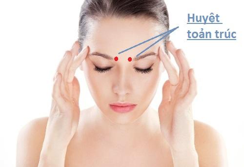 Phương pháp massage bấm huyệt trị đau nửa đầu