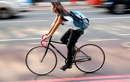 Đi xe đạp có giảm mỡ bụng không